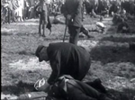 First aid demonstration at a railway accident